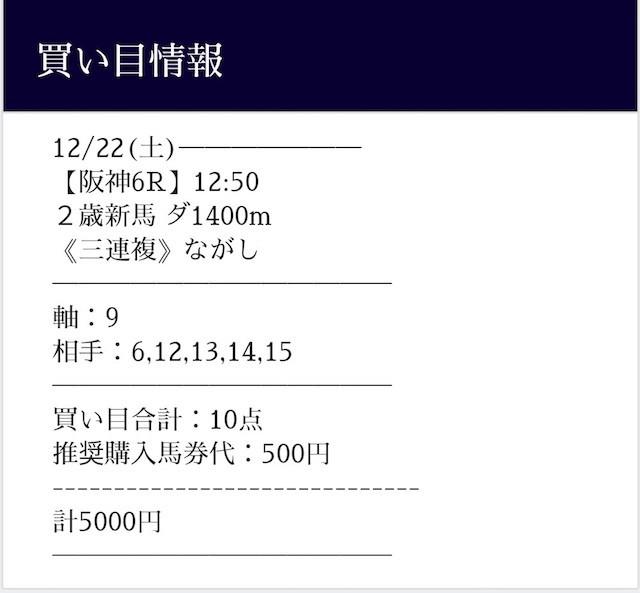 tazuna2018年12月22日無料予想