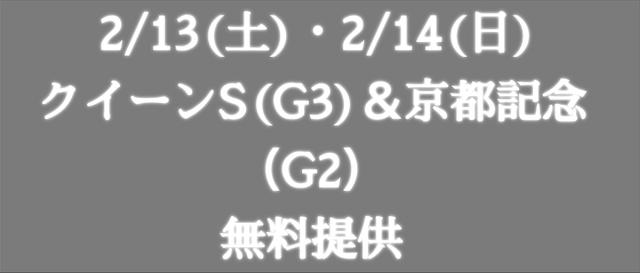 JHA2021年2月13日14日の予想提供