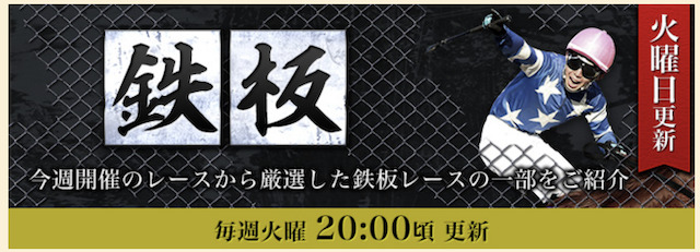 ギャロップジャパン 鉄板